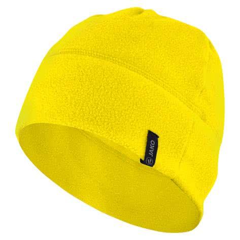 Jako Fleecemütze 2.0 1221 Yellow Größe Junior,Senior
