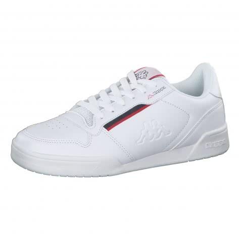Kappa Unisex Sneaker Marabu 242765-1020 37 White/Red | 37