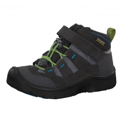 Keen Kinder Schuhe Hikeport Mid Waterproof 1019715 24 Magnet/Greenery | 24