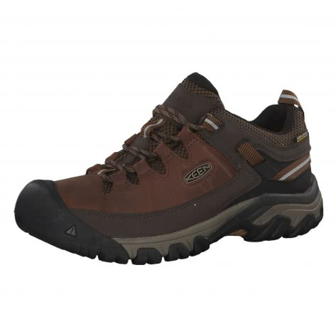 Keen Herren Wanderschuhe Targhee III Waterproof 1018568 44 BIG BEN/GOLDEN BROWN | 44