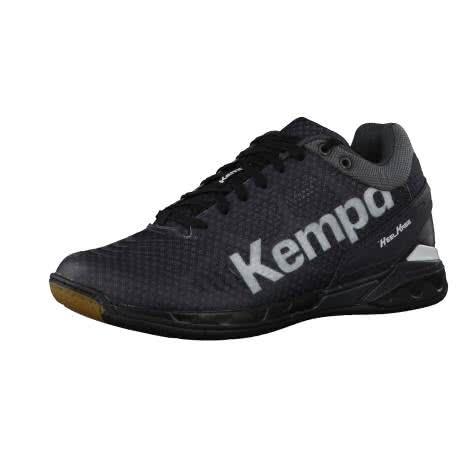 Kempa Herren Handball Schuhe Attack Midcut 200849901 44.5 schwarz/weiss | 44.5