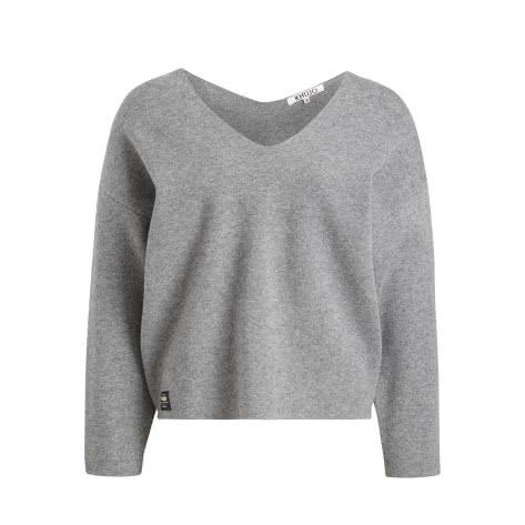 Khujo Damen Pullover Virginia 1556KN193-B11 XL MGrey-Melange | XL