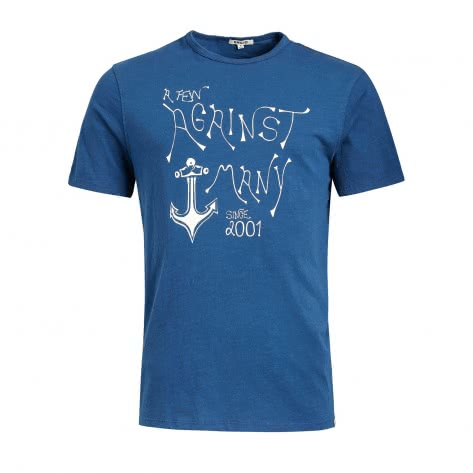 Khujo Herren T-Shirt Finn Anchor 2545TS191