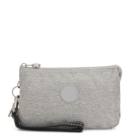 Kipling Damen Clutch Tasche Creativity XL KI2940-62M Chalk Grey | One size