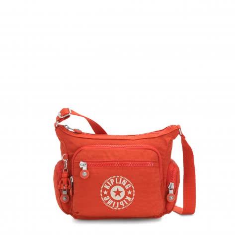 Kipling Damen Umhängetasche Gabbie S KI2632-67H Funky Orange Nc | One size
