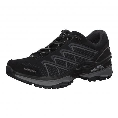 Lowa Herren Wanderschuhe Ferrox Evo GTX Lo 310638 Black/Light Grey Größe: 41.5,42,44.5,45,46,46.5