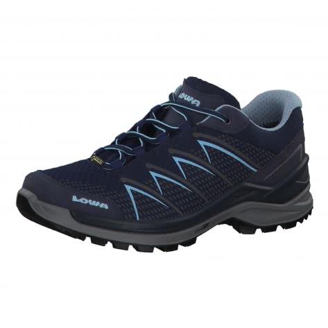 Lowa Damen Outdoorschuhe Ferrox Pro GTX Lo 320649-6917 41 navy/eisblau | 41