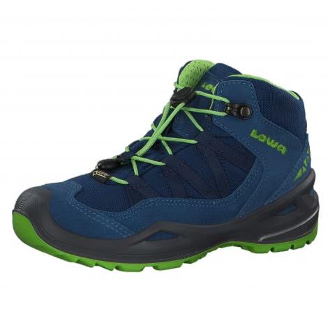 Lowa Kinder Outdoorschuhe Robin GTX QC 640728-6003 34 Blue/Lime | 34