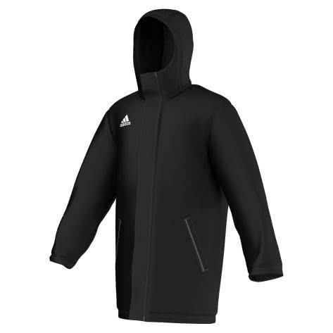 adidas Core 15 Stadionjacke black/white Größe: 116,128,140,152,S,XXL