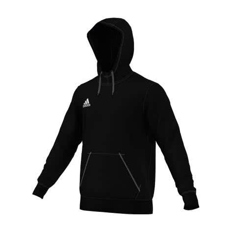 adidas Core 15 Hoody black white Größe 128