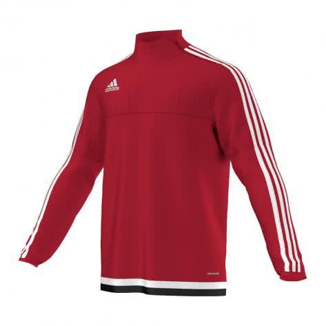 adidas Tiro 15 Training Top power red white black Größe 116