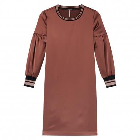 Maison Scotch Damen Kleid Dress with Voluminous Sleeves 146619-0501 L Brick | L