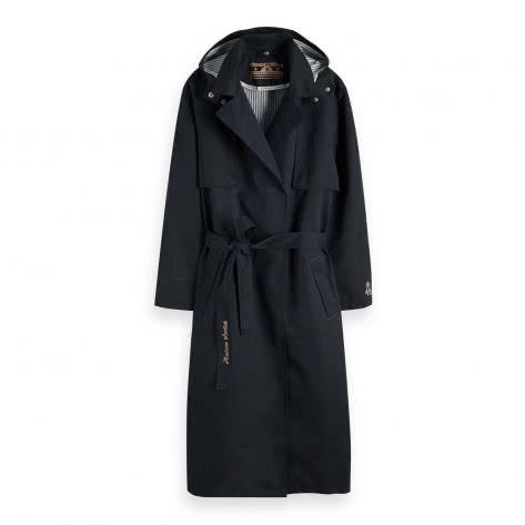 Maison Scotch Damen Regenmantel Amsterdam Proof Raincoat 150000