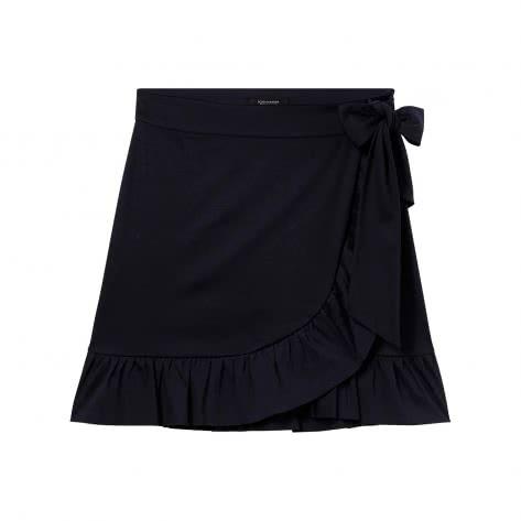 Maison Scotch Damen Rock Clean Jersey Wrapover Skirt 146728