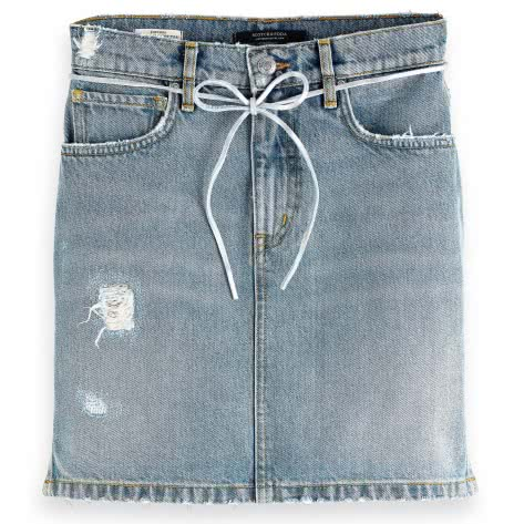 Maison Scotch Damen Jeansrock 151985