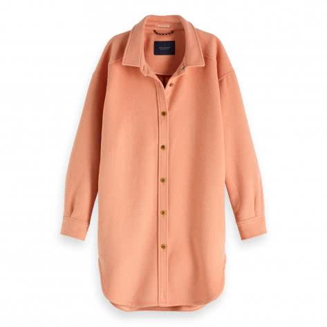 Maison Scotch Damen Jacke Oversized wool shirt jacket 147739-2536 L Maloja Pink | L