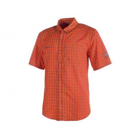 Mammut Herren Lenni Shirt 1030-01830 Dark Orange-Titanium Größe: S