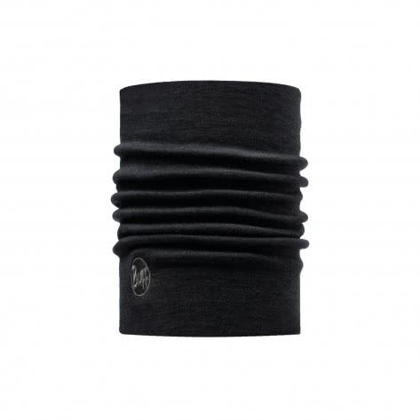 Buff Schlauchtuch Heavyweight Merino Wool Buff 110963 Black | One size