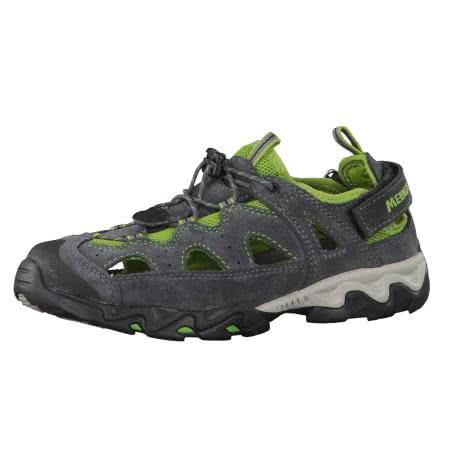 Meindl Kinder Schuhe Rudy Junior 2056 Grau Grün Größe 26,27,28,29,30,32,34,35,36,37