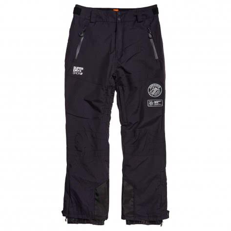 Superdry Herren Skihose SD Mountain Snow Pant MS1301SU-UHL XXL Onyx Black | XXL