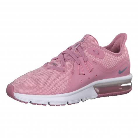 Nike Mädchen Laufschuhe Air Max Sequent 3 (GS) 922885 Elemental Pink Ashen Slate Pink White Größe 38