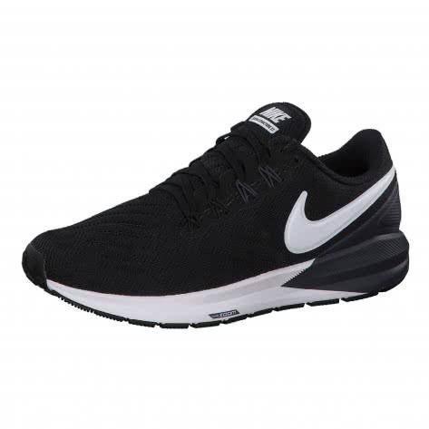 Nike Damen Laufschuhe Air Zoom Structure 22 AA1640-002 44 Black/White-Gridiron   44