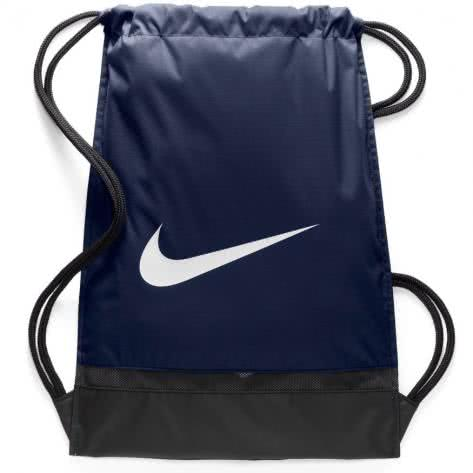 Nike Turnbeutel Brasilia Gym Sack BA5338-410 Midnight Navy/Black/White | One size