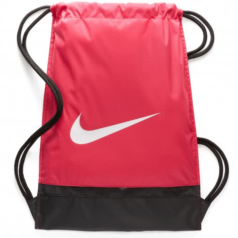 Nike Turnbeutel Brasilia Gym Sack BA5338-666 Rush Pink/Black/White   One size