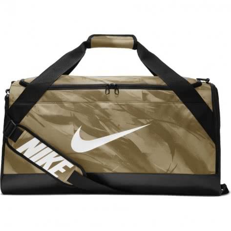 b26294531f809 Nike Sporttasche Brasilia Medium Training Duffel Bag BA5481-209 Neutral  Olive Black White