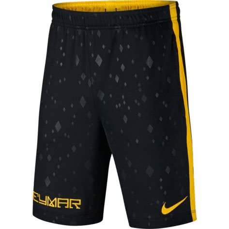 Nike Jungen Trainingshort Dry Neymar Academy Short AA3872 Black Amarillo Größe 147 158