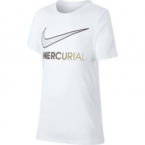 Nike Jungen T-Shirt Dry Neymar Tee Boot Hook AV2763 White Größe 128 137,137 147,147 158,158 170