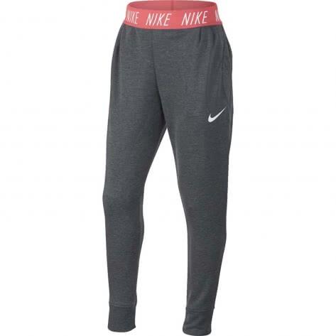 Nike Mädchen Trainingshose Dry Pant Studio 939525 Carbon Heather Pink Nebula White Größe 122 128,128 137,137 147,147 158,158 170