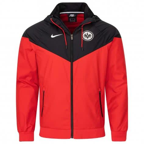 Nike Eintracht Frankfurt Herren Jacke Soccer Windrunner CI9293-657 M University Red/Black/White   M