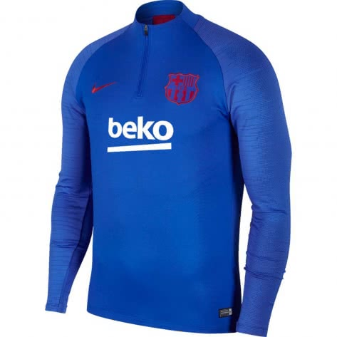 Nike Herren FC Barcelona Trainingstop Dry Strike Drill Top AO5159