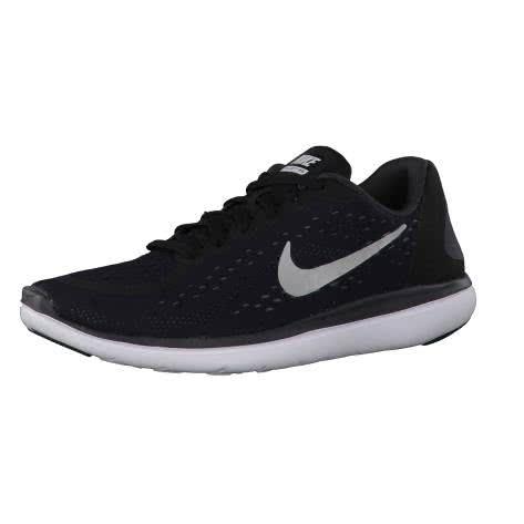 Nike Jungen Laufschuhe Flex RN 2017 (GS) 904236 Black Metallic Silver Anthracite White Größe 35.5,36,36.5,37.5,38.5,40