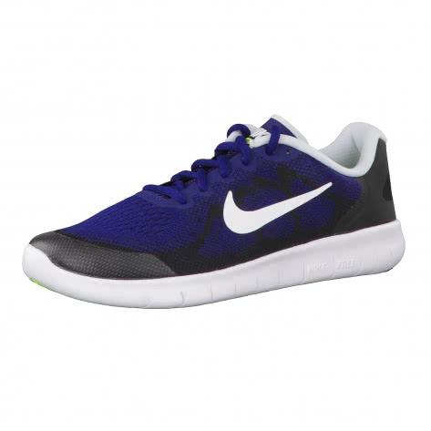 Nike Jungen Laufschuhe Free RN 2 (GS) 904255 Binary Blue White Black Volt Größe 35.5,36,36.5,37.5,38,38.5,39,40