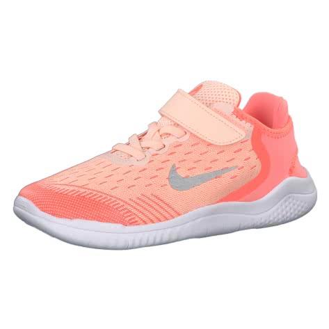 Nike Mädchen Laufschuhe Free RN 2018 (PSV) AH3455 Crimson Tint Gunsmoke Crimson Pulse Größe 27.5