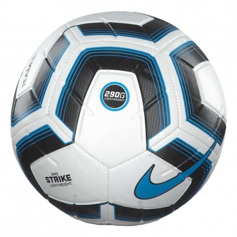 Nike Fussball Strike Team Lightweight 290g SC3989-100 5 White/Black/Cyan | 5
