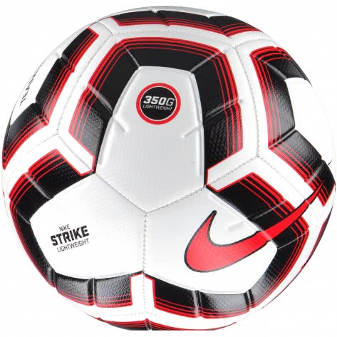 Nike Fussball Strike Team Lightweight 350g SC3991-100 5 White/Black/Bright Crimson | 5