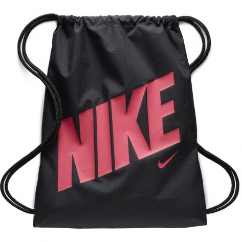 Nike Kinder Turnbeutel Graphic Gym Sack BA5262-016 Black/Black/Rush Pink | One size
