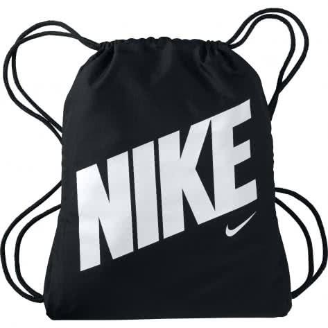 Nike Kinder Turnbeutel Graphic Gym Sack BA5262-015 Black/Black/White | One size