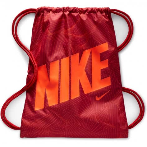 Nike Kinder Turnbeutel Graphic Gym Sack BA5262-687 Gym Red/Gym Red/Hyper Crimson | One size
