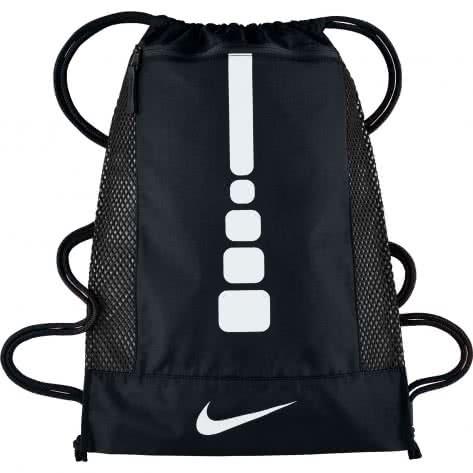 Nike Turnbeutel Hoops Elite Basketball Gym Sack BA5342 Black/Black/White Größe: One size