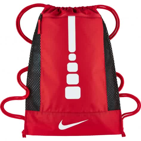 Nike Turnbeutel Hoops Elite Basketball Gym Sack BA5342 University Red/University Red/White Größe: One size