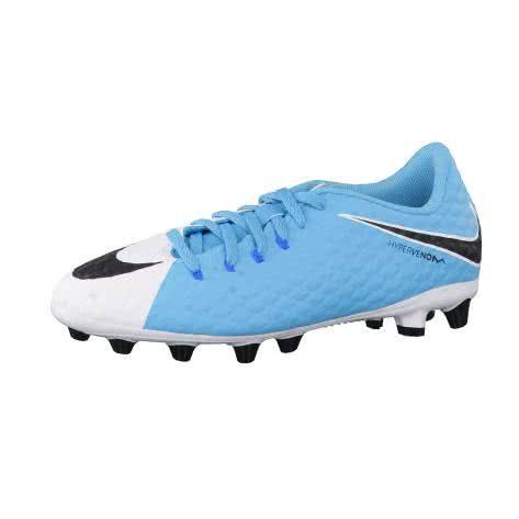 Nike Kinder Fussballschuhe Jr Hypervenom Phelon III AG-Pro 878644