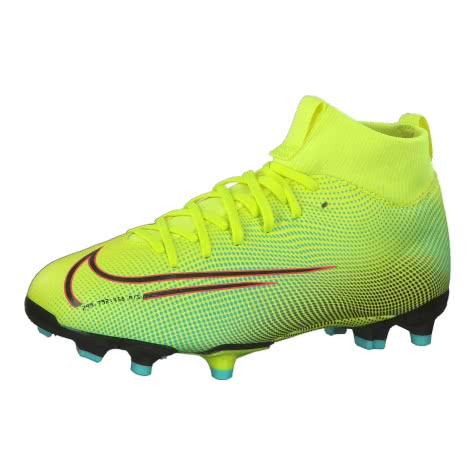 Nike Kinder Fussballschuhe Jr Mercurial Superfly VII Academy MDS MG BQ5409-703 32 Lemon Venom/Black-Green | 32