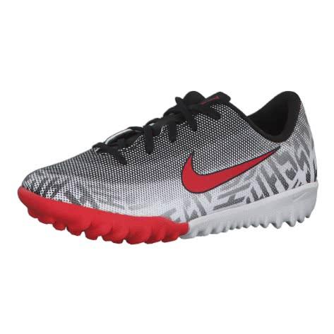 Nike Kinder Fussballschuhe Jr Mercurial VaporX XII AC NJR TF AO2900-170 29.5 White/Challenge Red-Black | 29.5