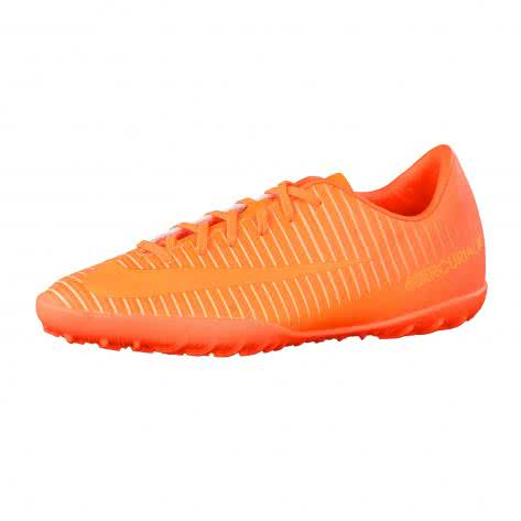 Nike Kinder Fussballschuhe Jr MercurialX Vapor XI TF 831949-888 38.5 Total Orange/Bright Citrus-Hyper Crimson | 38.5