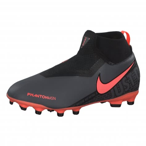 Nike Kinder Fussballschuhe Jr Phantom Vision Academy DF MG AO3287-080 33.5 Dark Grey/Bright Mango-Black | 33.5