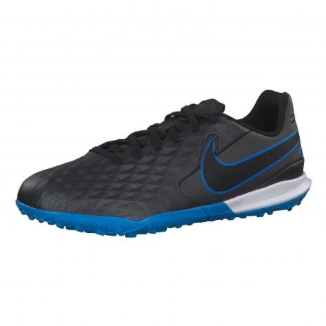Nike Kinder Fussballschuhe Jr Tiempo Legend VIII Academy TF AT5736-004 33.5 Black/Black-Blue Hero | 33.5
